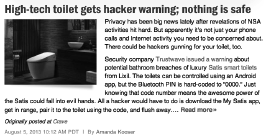 Hacker news article