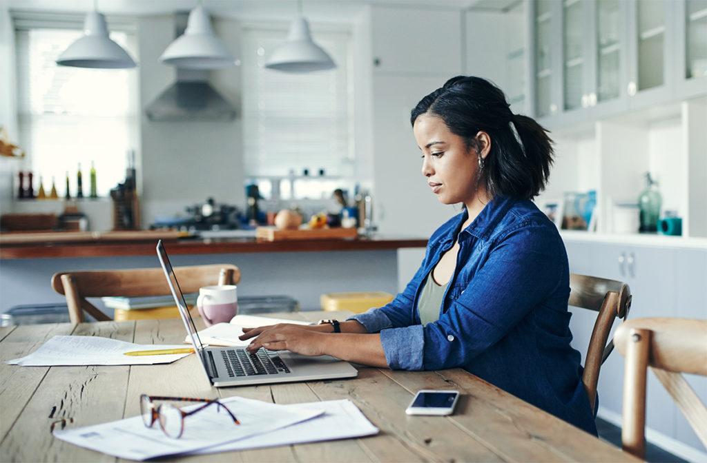 Learn cyber safety guidelines when working from home.