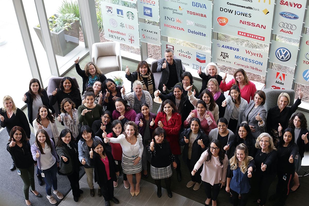 Women of Infoblox Group Photo